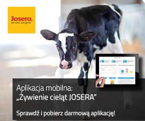 aplikacja mobilna żywienie cieląt Josera